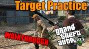 GTA 5 Single PLayer Walkthrough - Target Practice