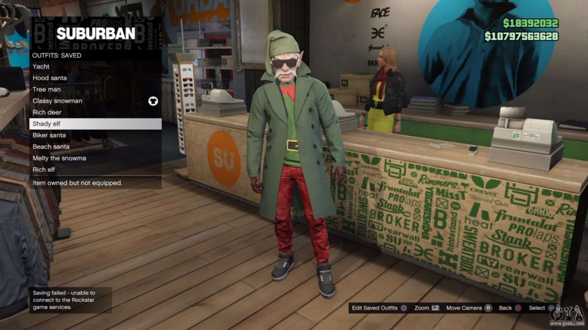 the sonic flare gamer s video festive costumes in gta online