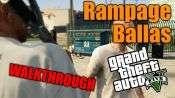 GTA 5 Single PLayer Walkthrough - Rampage: Ballas