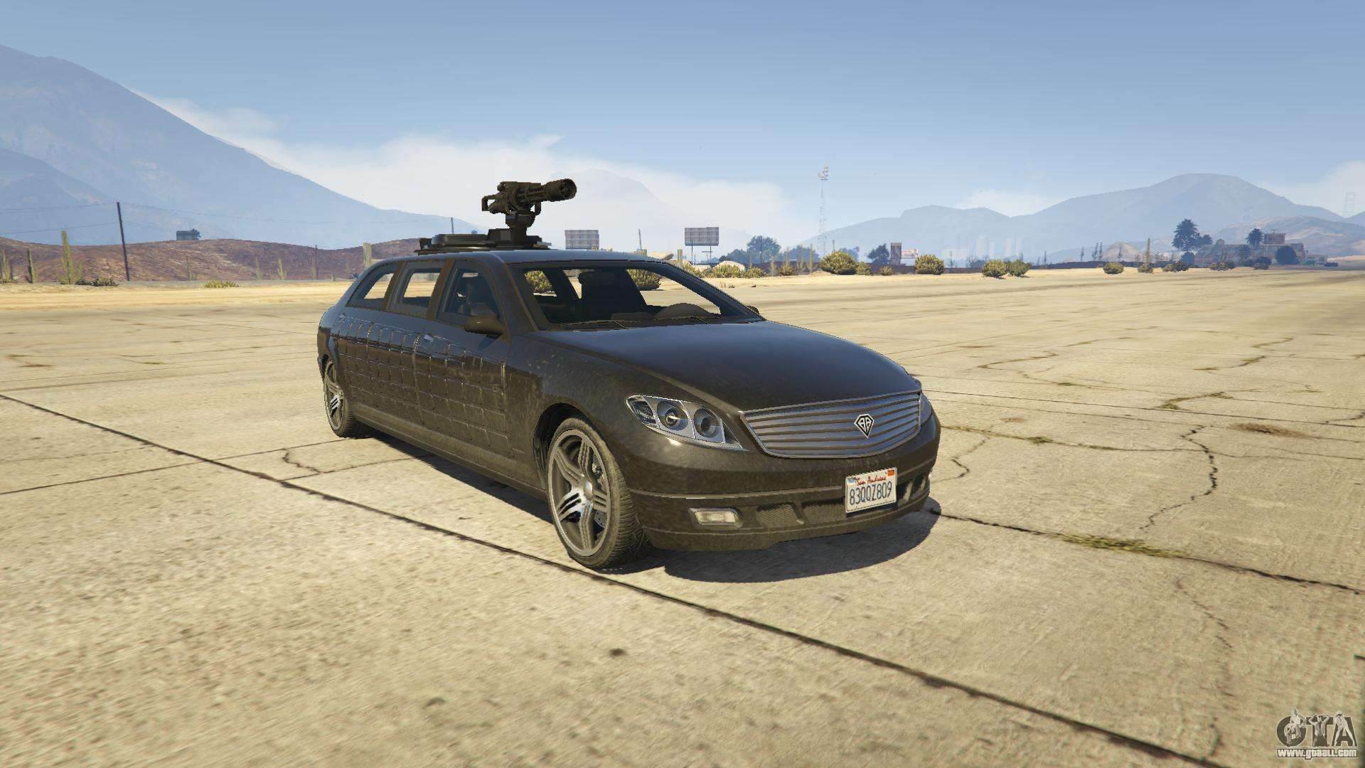 Benefactor Turreted Limo From Gta 5 Screenshots
