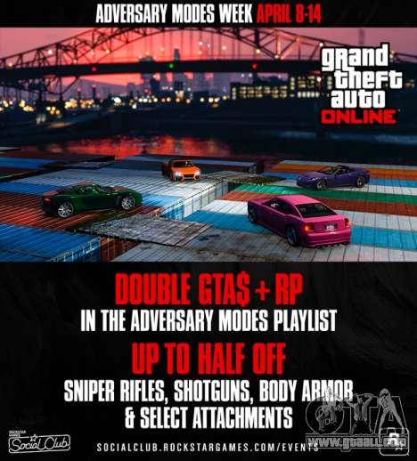Adversary Modes Week in GTA Online
