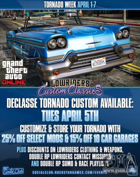 Tornado Week in GTA Online