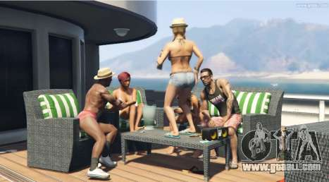 Dancing on the table in GTA 5!