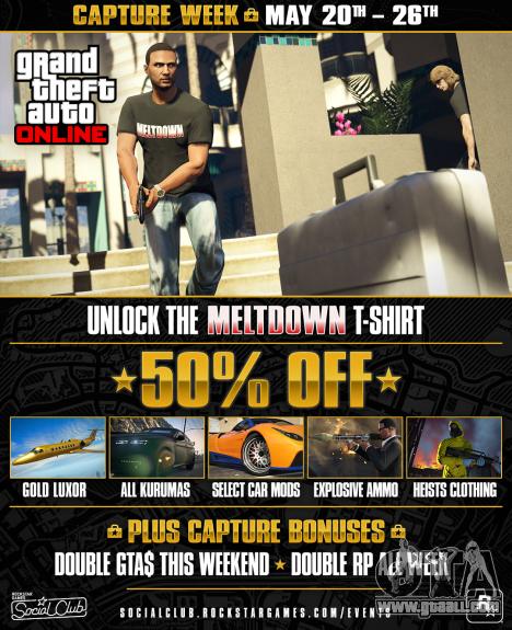 Capture Week in GTA Online