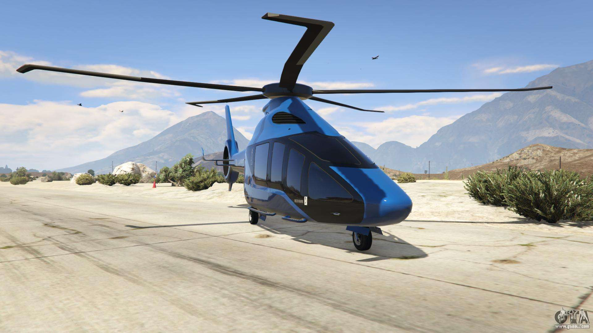 Buckingham Volatus from GTA Online - front view