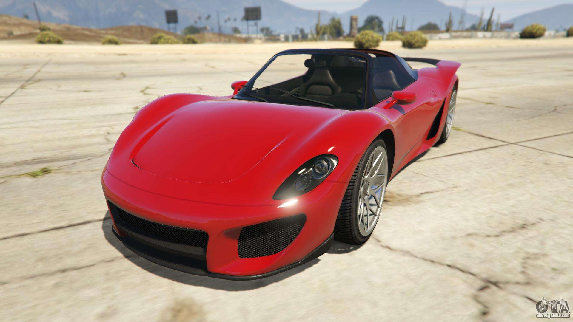 Pfister 811 of GTA Online - front view