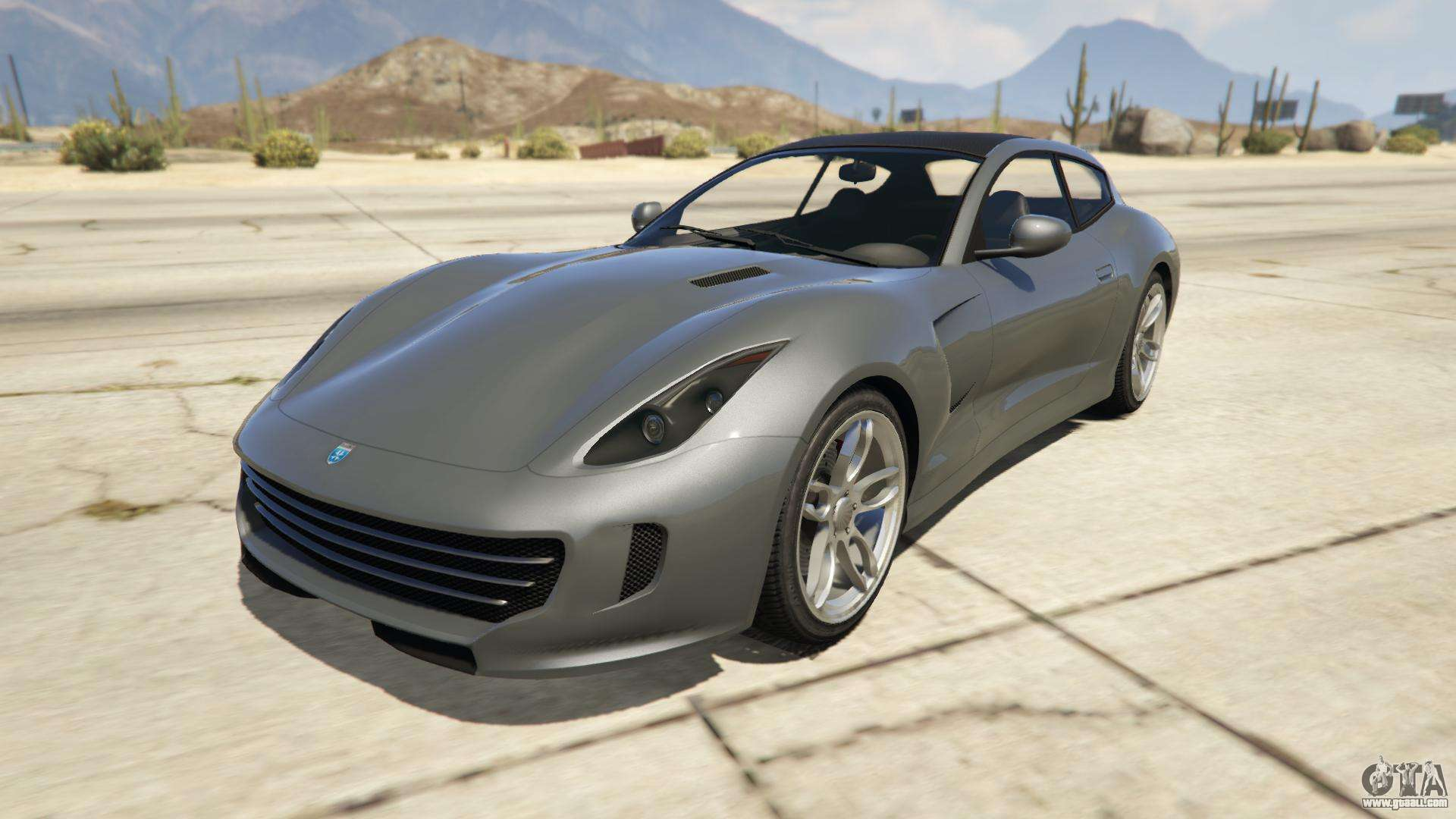Grotti Bestia GTS from GTA Online - front view