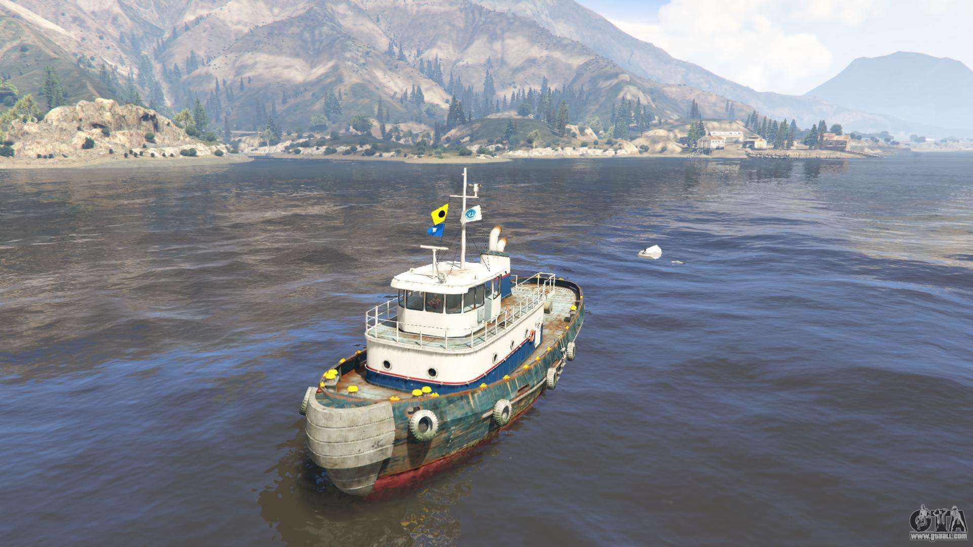 Tug from GTA 5 - front view
