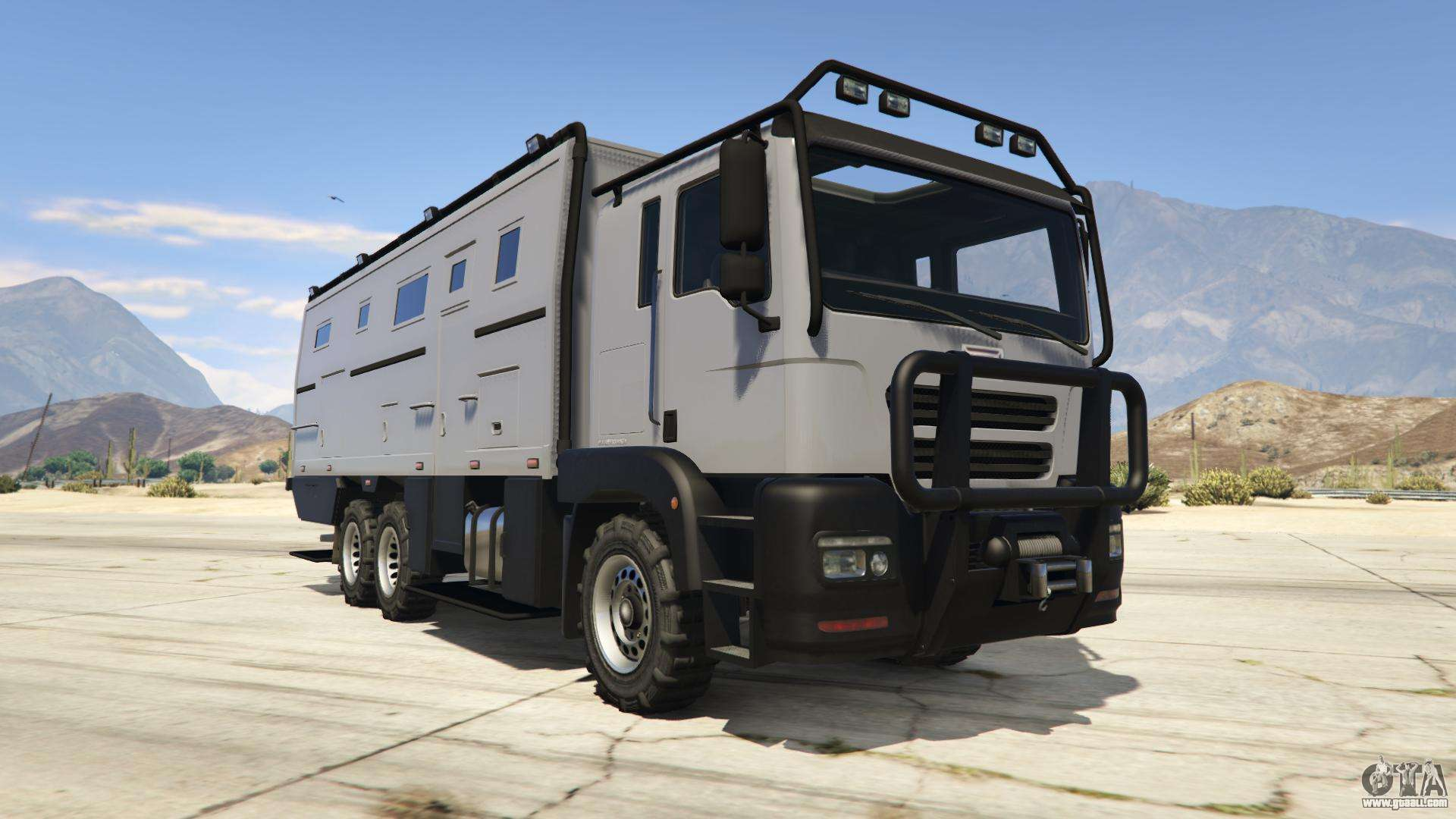HVY Brickade from GTA 5 - front view