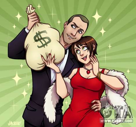 Money and Love by Jackce-Art