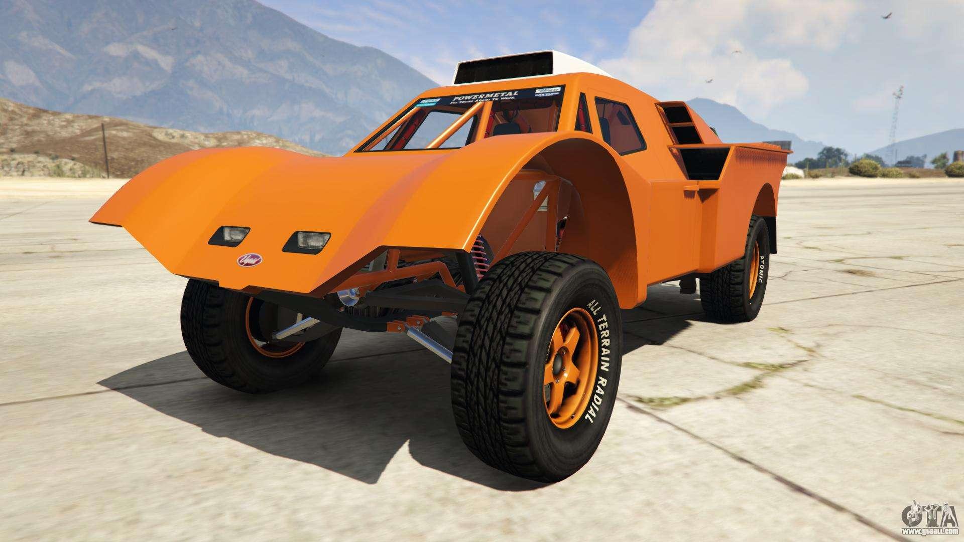 Vapid Desert Raid from GTA Online - front view
