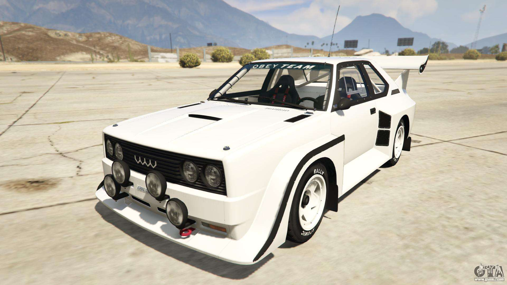 Obey Omnis from GTA Online - front view