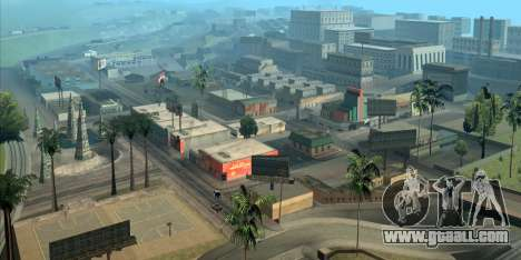 GTA San Andreas helps you to orientate in Los Angeles