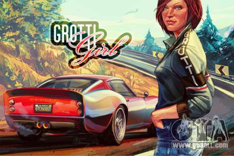 GTA 5: Grotti Girl by W_Flemming
