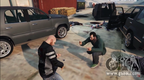After skirmish in GTA 5