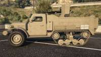 Half-track from the GTA 5 side view