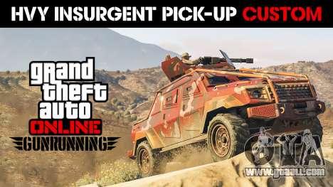 HVY Insurgent Pick-Up Custom from GTA 5