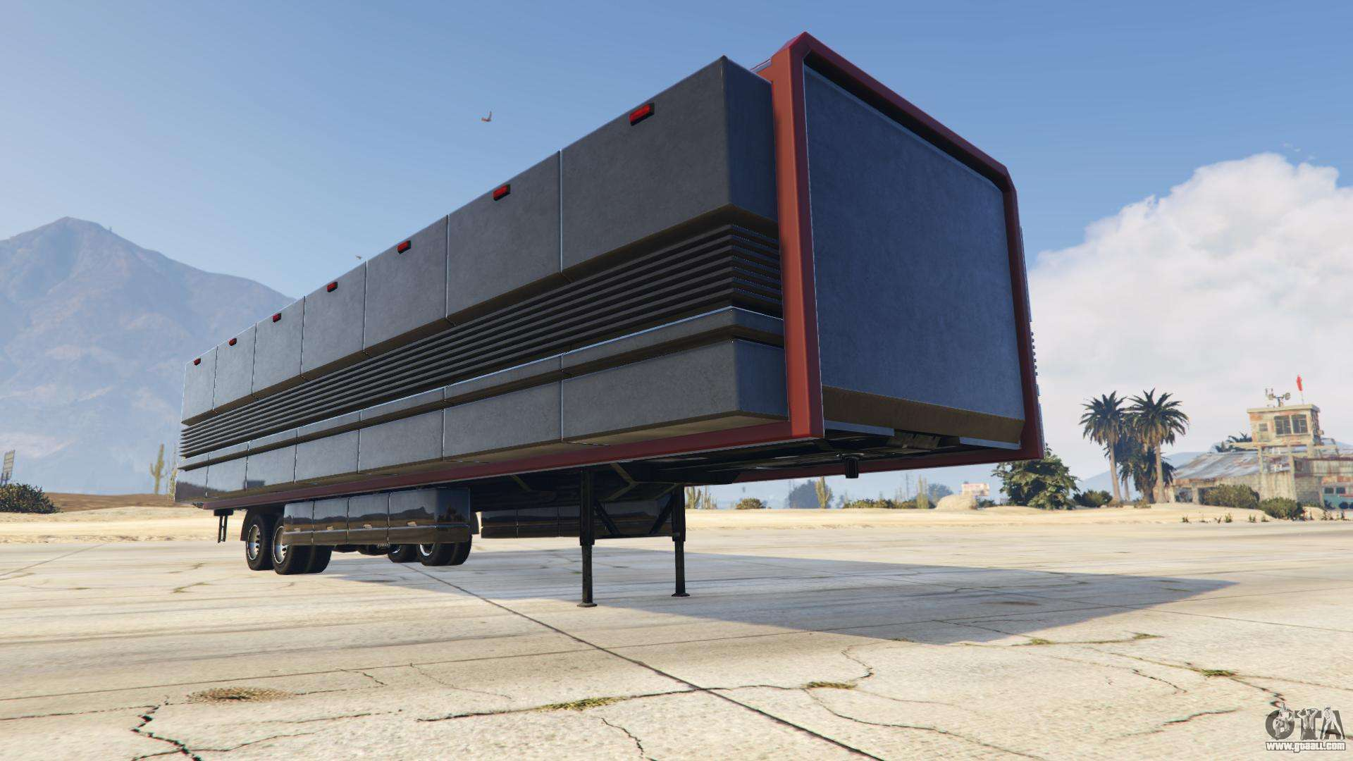 Mobile Operations Center from GTA Online