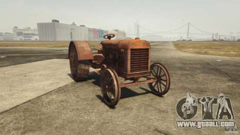 Rusty tractor in GTA 5