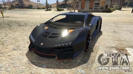 Supercar Pegassi Zentorno in GTA 5