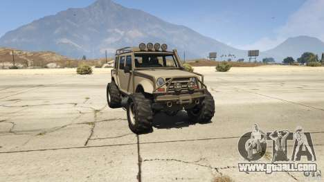Upgraded Canis Mesa in GTA 5