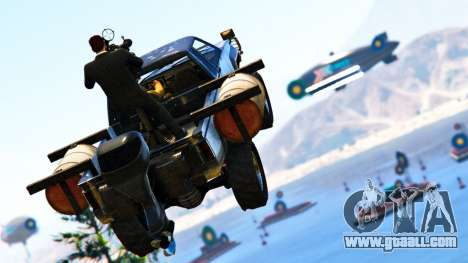 Double payouts in the Race mode with targets in GTA Online