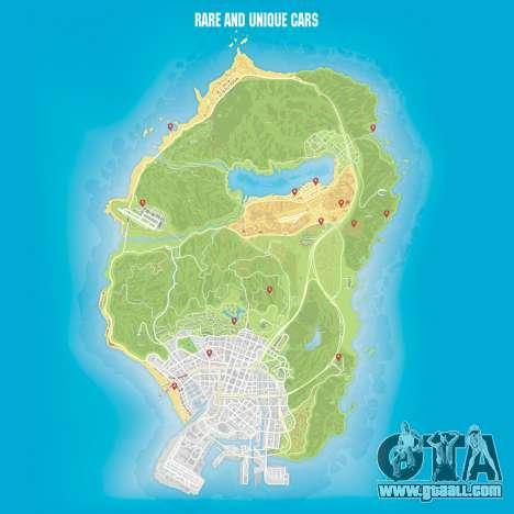 Cars maps