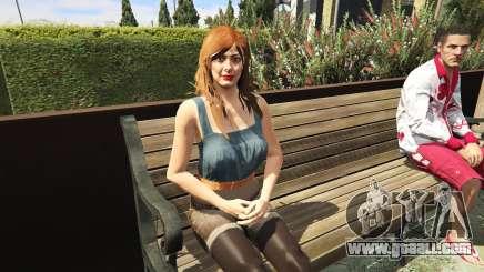 To remove a bra in GTA 5
