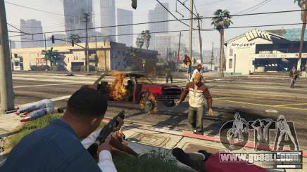 Zombies in GTA 5