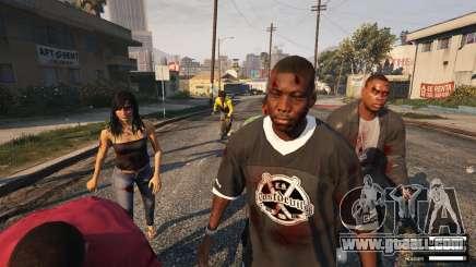 Zombie Apocalypse in GTA 5