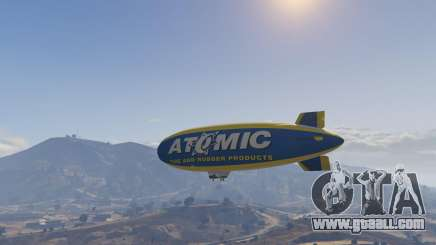 To steal an airship in GTA 5 online