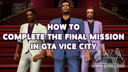The final mission GTA Vice city