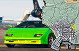 All the vehicles of GTA 5 on the map