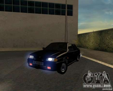 VAZ 2115 TJK for GTA San Andreas
