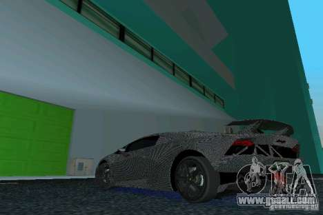Lamborghini Sesto Elemento for GTA Vice City left view