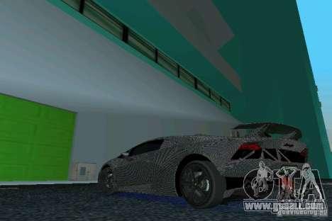 Lamborghini Sesto Elemento for GTA Vice City left view