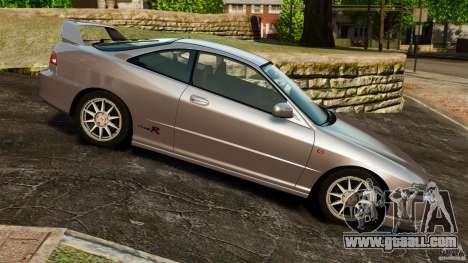 Honda Integra Type-R for GTA 4 left view