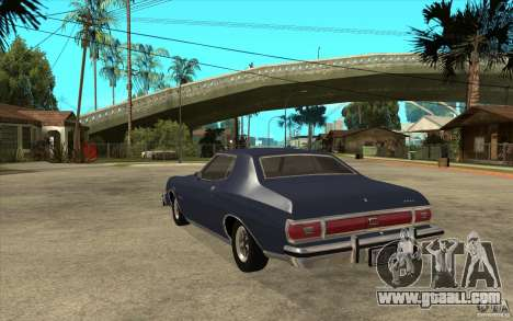 Ford Gran Torino Stock for GTA San Andreas back left view