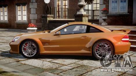 Mercedes-Benz SL65 AMG Black Series for GTA 4 left view