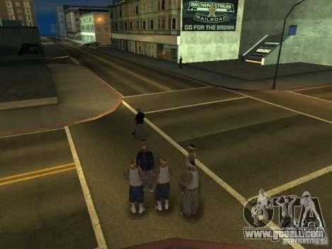 Free moving camera for GTA San Andreas second screenshot