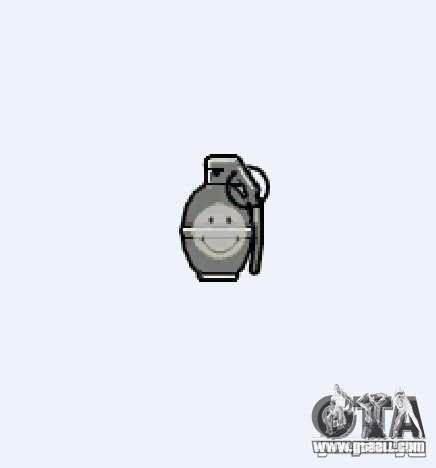 Smiley Granate for GTA 4 forth screenshot