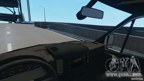 Mercedes-Benz Sprinter-Identification Criminelle for GTA 4 side view