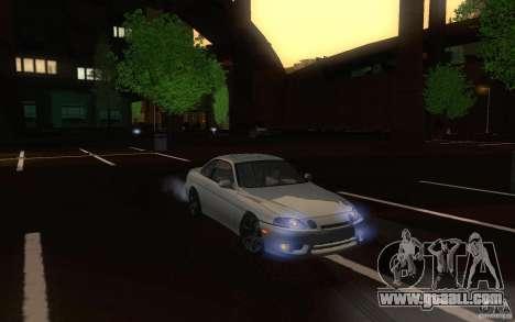 Lexus SC300 for GTA San Andreas inner view