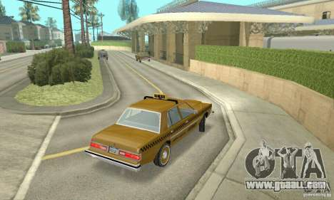 Dodge Diplomat 1985 Taxi for GTA San Andreas left view