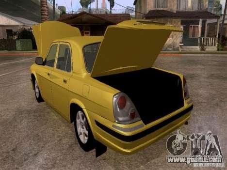 GAZ Volga 31107 for GTA San Andreas inner view
