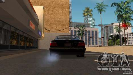 BMW E38 750LI for GTA San Andreas inner view