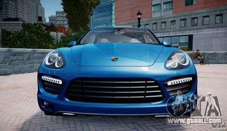 Porsche Cayenne Turbo 2012 for GTA 4