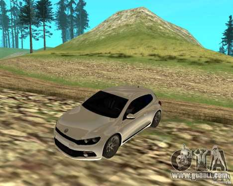 VW Scirocco III Custom Edition for GTA San Andreas left view