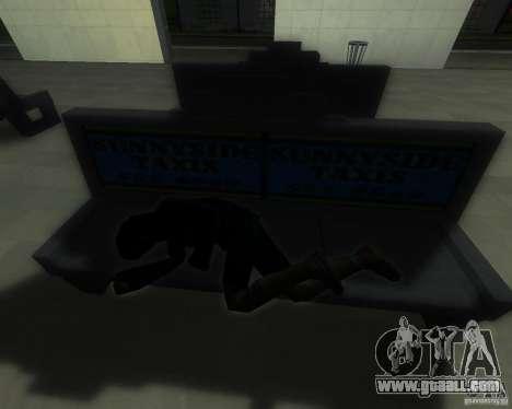 A bustling train station in San Fierro for GTA San Andreas fifth screenshot