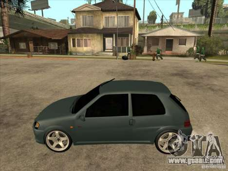 Peugeot 106 GTI Tuning for GTA San Andreas left view